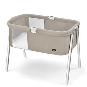 Chicco Lullago Portable Bassinet: So versatile! This Chicco® bassinet is so lightweight, portable and easy to assemble, it's the perfect travel crib for baby. But with its modern lines and sturdy construction, it's ideal for every-day home use, too. Great for co-sleeping; moves easily from room to room (weighs less than 15 lbs.)....$99.95