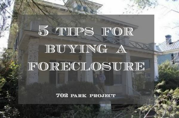 5 Tips For Buying a Foreclosure #702parkproject #tips #foreclosure