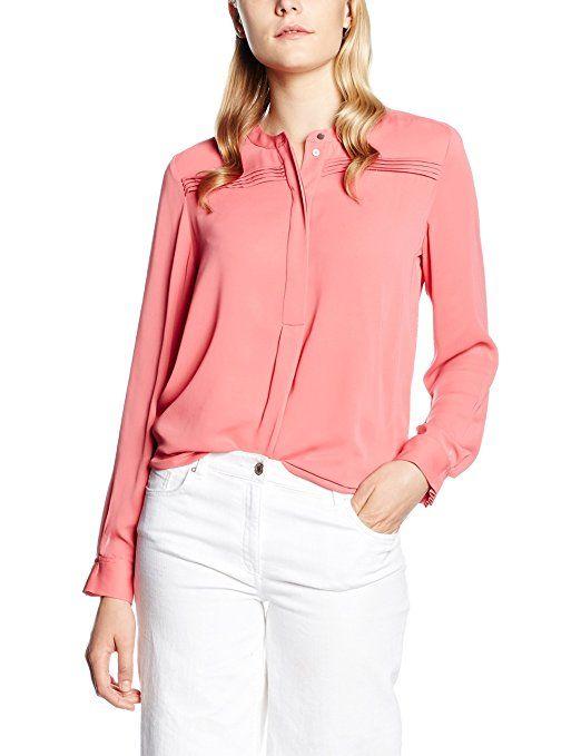 49,90 € Tommy Hilfiger Bluse in Lachs/Rosa. Passt perfekt zu Weiß und Grautönen und trägt sich besonders klassisch im Hosen- oder Rockbund. | Stylefeed
