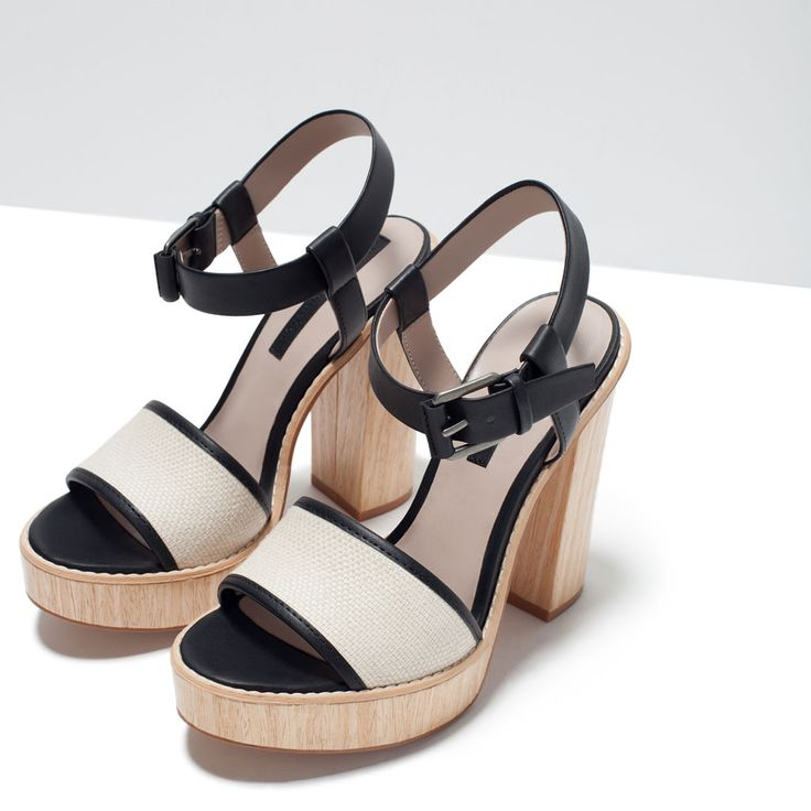 ZARA - SHOES & BAGS - HIGH HEEL PLATFORM SANDAL