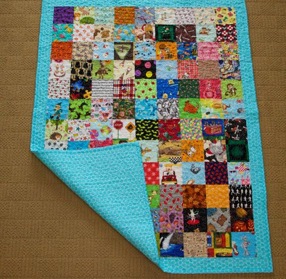 I Spy Quilt by SewingbyApril on Etsy
