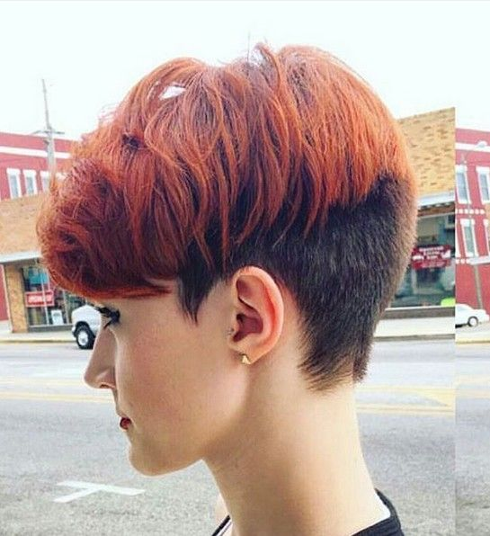 pixie hairstyles thick