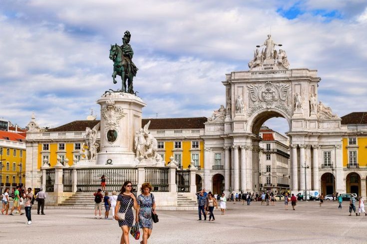 Praca do Commercio, Lisbon