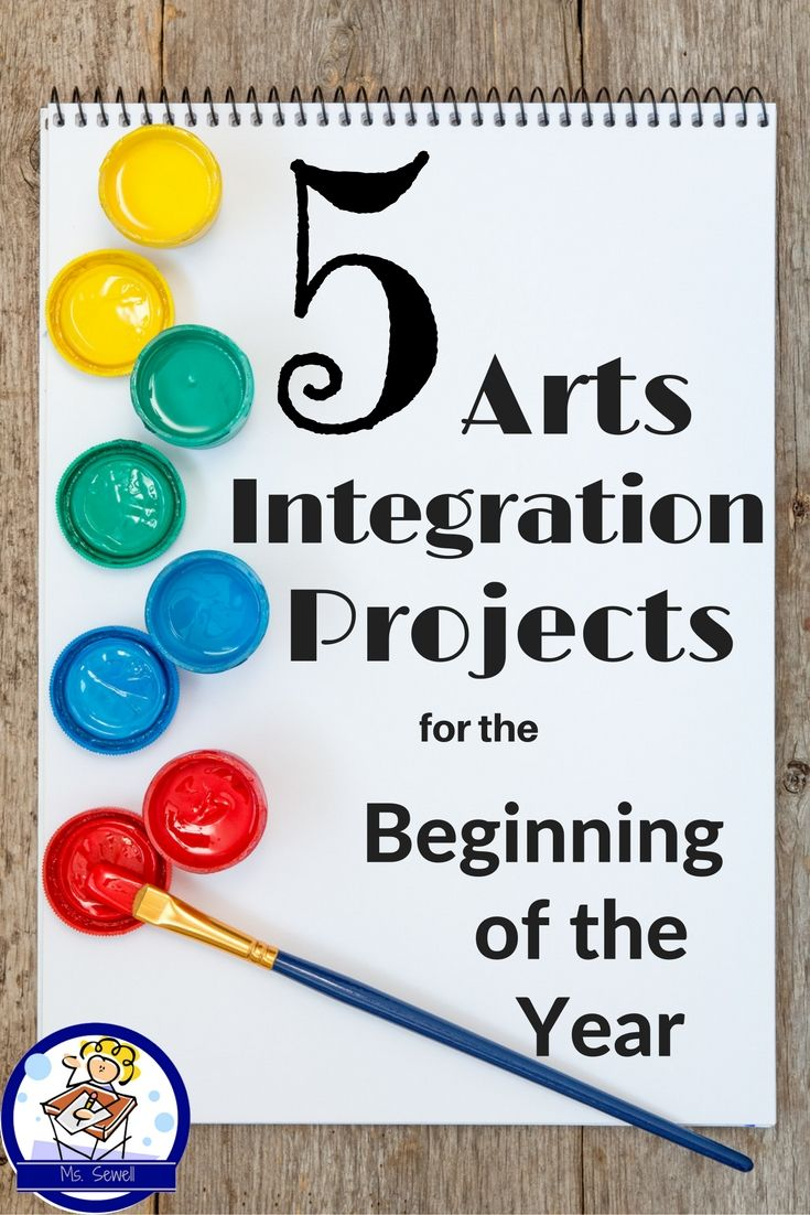 Find five inspiring, easy-to-implement, arts integrated lessons to help kick off the beginning of the year!  Find visual arts, music, and drama activities that connect to reading, writing and content.