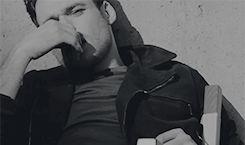 Richard Madden Grazia BTS