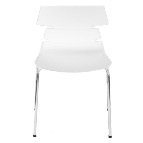 sillas_diseno #sillas #modernas #cromadas #blancas #comedor ...