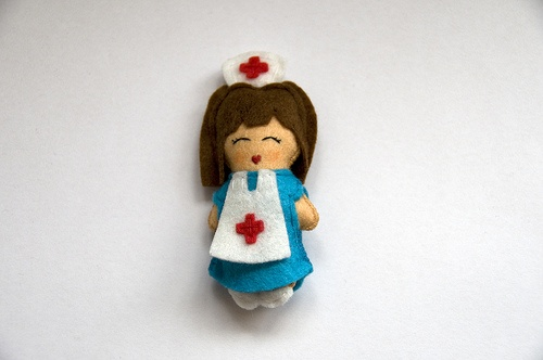 Muñeca enfermera: Photos, Ideas Fieltro, Dolls, Uñasr7, Muñeca Enfermera