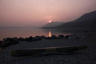 tramonto a Toscolano Maderno