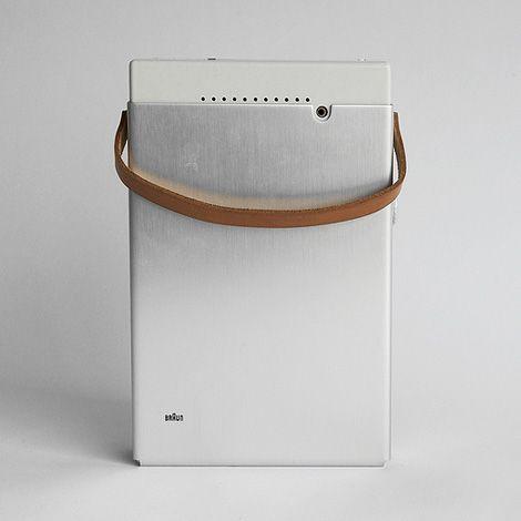 braun TP1portable transistor radio & phonograph (1959)