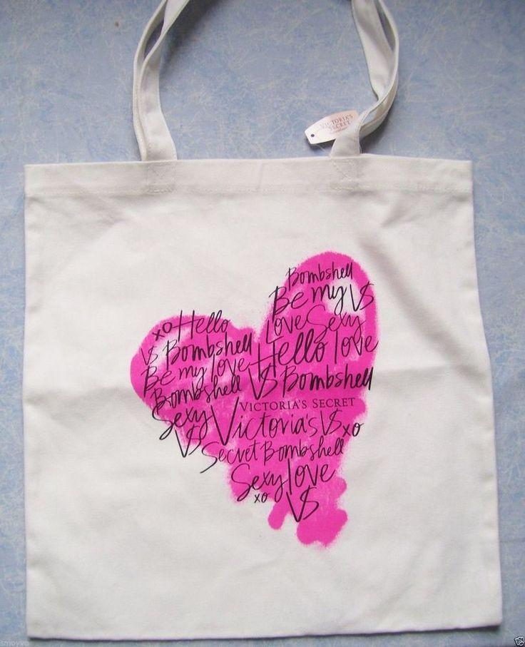 Victoria Secret heart tote bad  Другие холщовые сумки с интересными принтами смотрите здесь http://blogosum.com/posts/promo-sumki и здесь http://www.prospero.spb.ru/index.php/articles/43.html