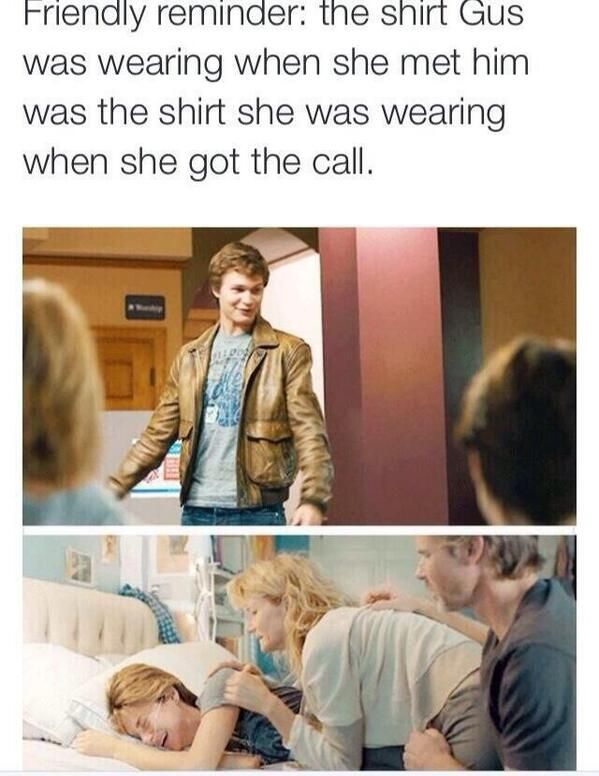 the fault in our stars :'(
