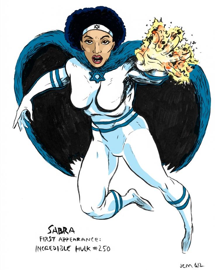 Sabra, the Israeli superhero