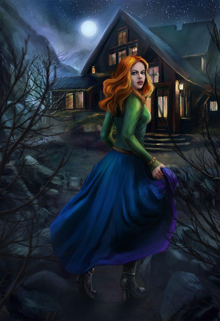 ArtStation - Рыжая ведьма , Kceon Ника