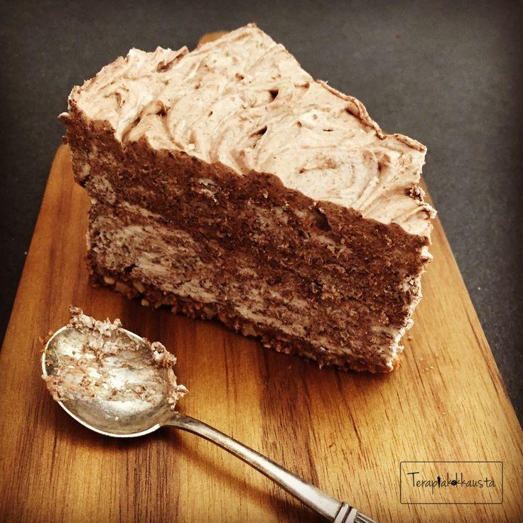 Gluteeniton mascarpone-suklaakakku