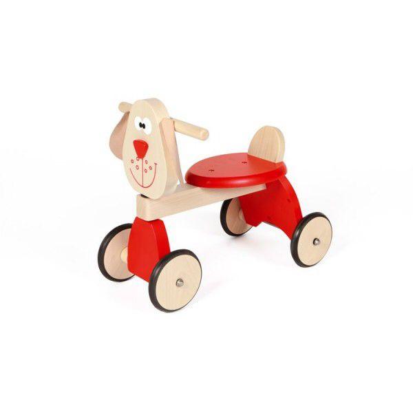 Scratch 4-wieler hond