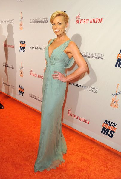 Jaime Pressly (I love her) at the Race to Erase MS Gala - The Most Beautiful Gowns of 2016 - Photos