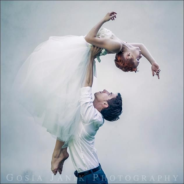 Ballet wedding session
