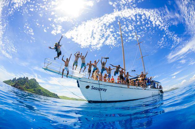 Adventure and fun on board Seaspray