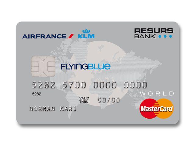 Air France / KLM | Flying Blue Mastercard | Resurs Bank Norway