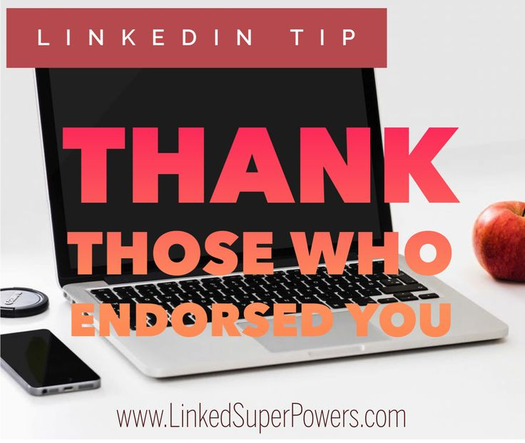 "Frequently monitor your LinkedIn Notifications to identify who recently endorsed you. These are the individuals who have shown interest in you and your profile. What you can do instead of sending them the generic message ""Thanks for endorsing me for x,y,z!"", is to send them a unique and personalized message that could present an opportunity to engage with & start a dialogue through messaging, further developing your professional relationship. In other words, this presents a good networking…"