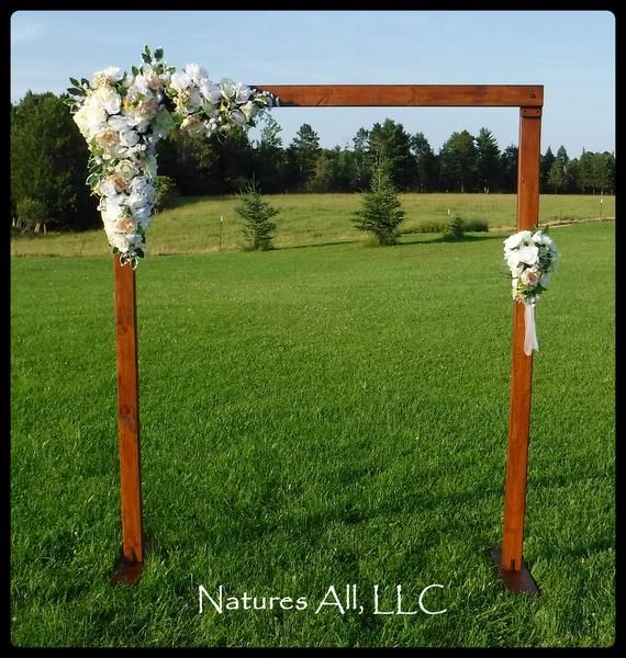73 Best Rustic Wedding Arches Images On Pinterest