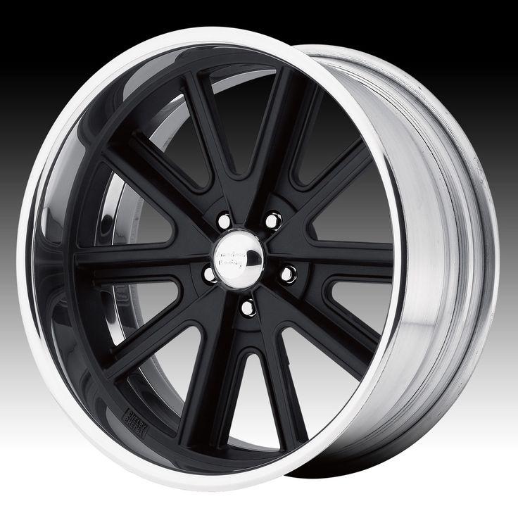 Vintage American Racing Wheels | American Racing VN407 Shelby® Cobra SL Black Custom Wheels Rims