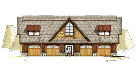 1000 Ideas About Carriage House Plans On Pinterest