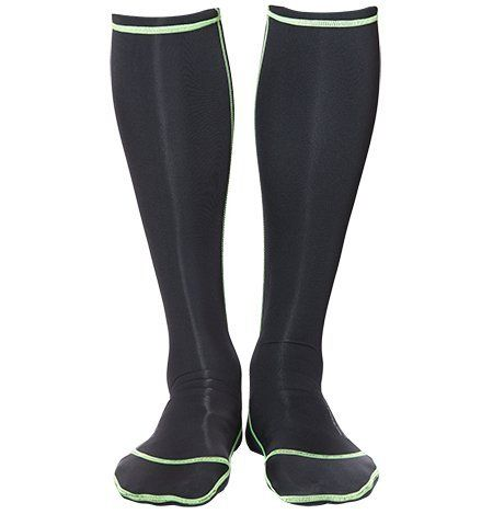 WETSOX Wader Sox 1MM- Insulated, Neoprene Core Hunting/Fishing Socks Designed For Warmth (Wet or Dry); Frictionless to Get You In and Out of Waders or Boots w/Ease (Black, Large)