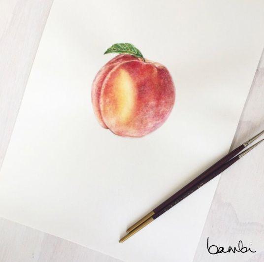 Peach, don't kill my vibe. #bybambi
