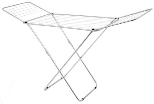 18M-Silver-Foldable-Indoor-Laundry-Clothes-Airer-Dryer-Washing-Line-Horse-Rack