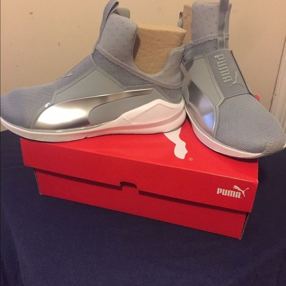 Kylie Jenner Pumas Brand new still in the box, soft, comfortable, light weight and stylish. Size is in women's Puma Shoes Sneakers