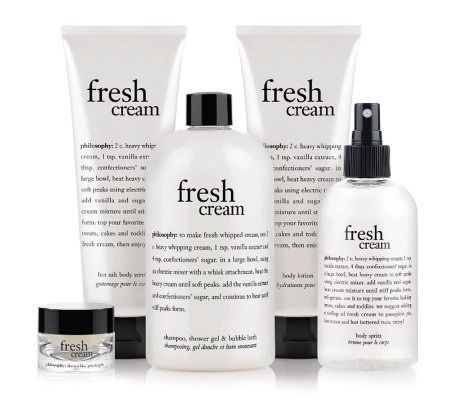 philosophy fresh cream creamy dreamy 5-piece collection. The BEST!!