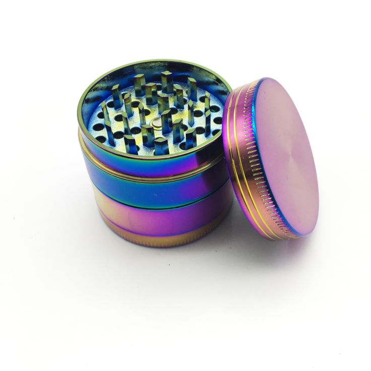4 Layers Colorful Herb Tobacco Spice Weeds Grass Grinder Smoke Crusher Hand Crank Muller Mill Pollinator Smoking Accessories