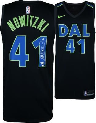 e70d86d43 Autographed Dirk Nowitzki Mavericks Jersey Fanatics Authentic COA  Item 8638527  Basketball