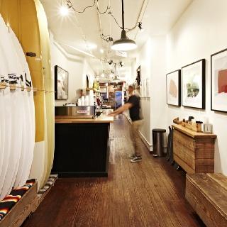 Interior Store Design Surf store