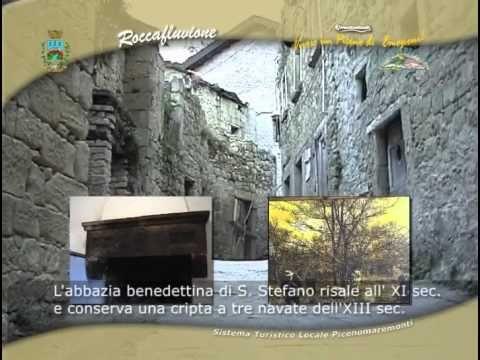Parte di un DVD interattivo per la Regione Marche, Provincia Ascoli Piceno, Turistico, Camera di Commercio Sistema Locale Picenomaremonti