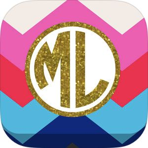 Monogram Lite - Wallpaper & Backgrounds Maker It by Yellow Lab, Inc.