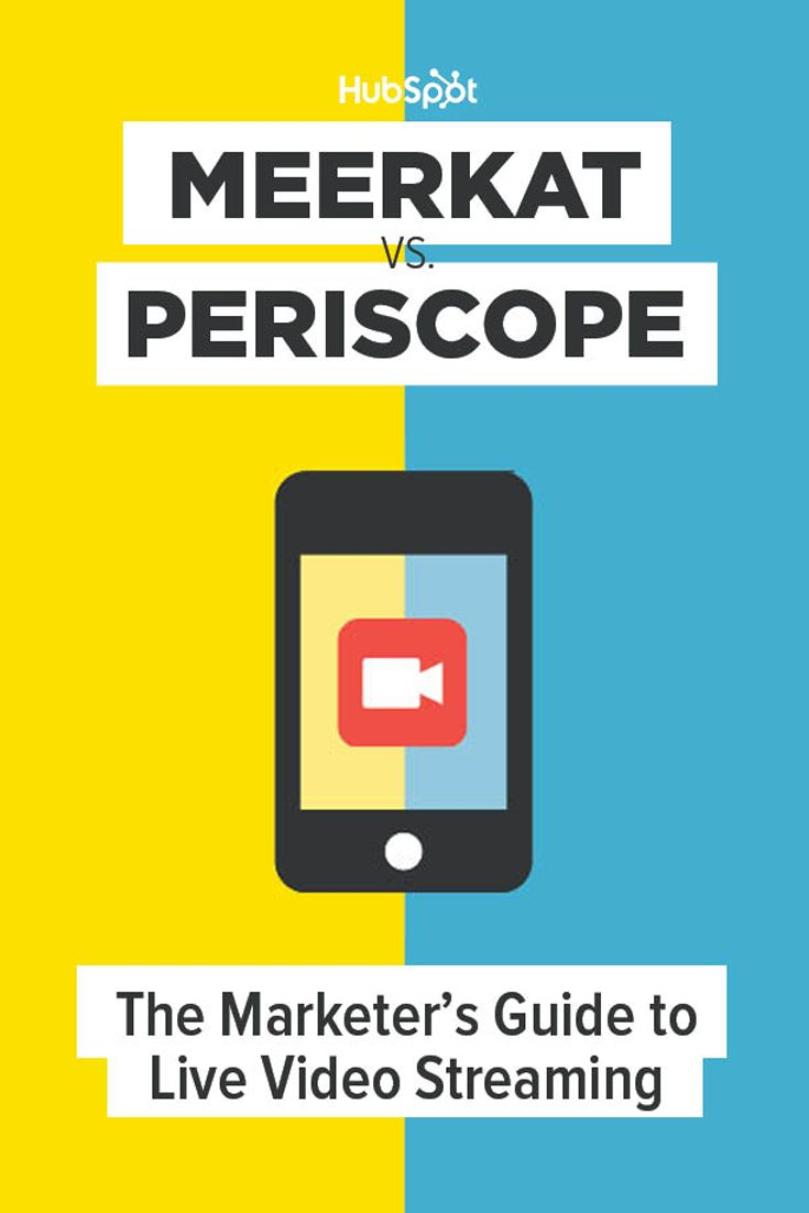 Meerkat vs. Periscope: The Marketer's Guide to Live Video Streaming  |  What is live-streaming? And how can your marketing benefit from it? We answer these questions and more in our exclusive ebook. Click the image to download.