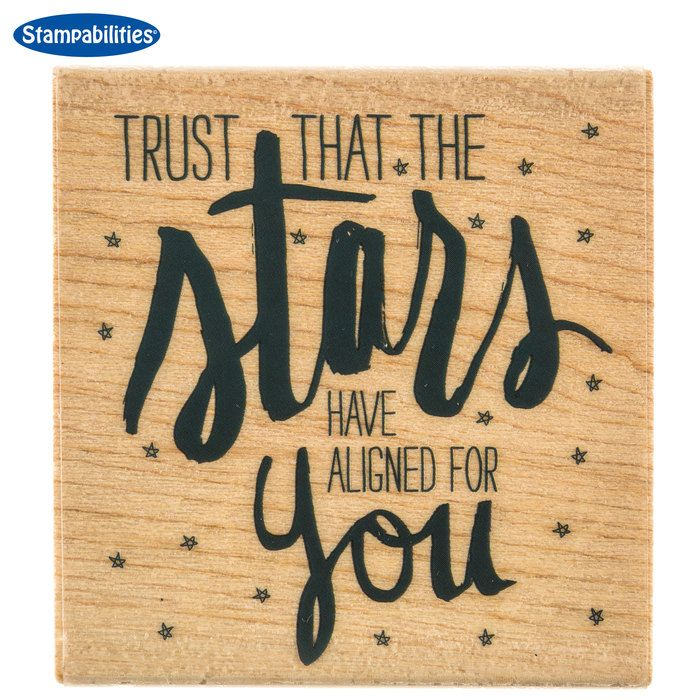 Get Trust the Stars Rubber Stamp online or find other Rubber Stamps products from HobbyLobby.com