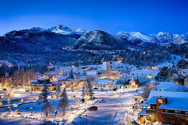 Estes Park, Colorado #Winterwonderland