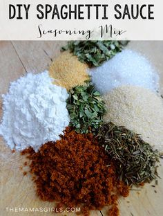 Homemade Spaghetti Sauce Seasoning Mix  on MyRecipeMagic.com