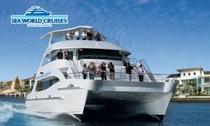 Groupon - Gold Coast: $ 39 for a Five-Hour Cruise Experience or $59 to Add Lunch with Sea World Cruises (Up to $85 Value) in Gold Coast. Groupon deal price: $39