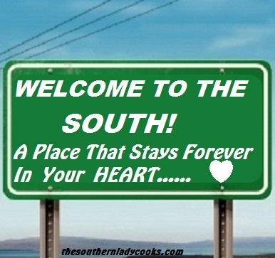 no matter how far you roam from your southern home