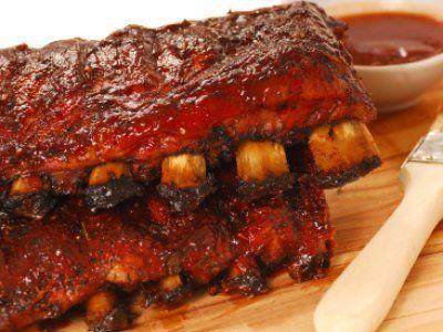 Receta de Costillas de Cerdo Barbecue | Con esta sencilla receta de costillas barbecue tendrás unas costillas espectaculares, con la carne tierna y en su punto!
