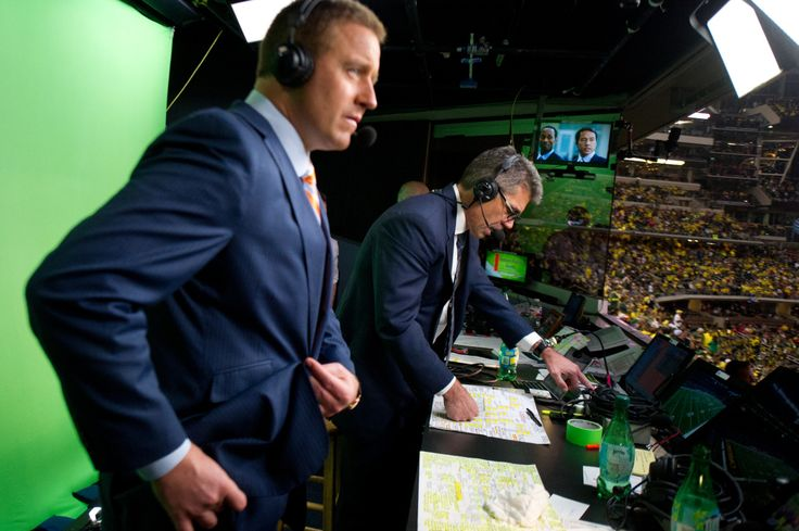For The Win was granted unique access to go behind the scenes with Fowler and Herbstreit.