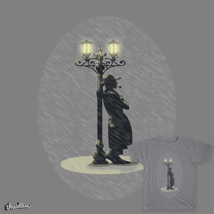 LIGHTS, RAIN, AND CIGARETTE on Threadless