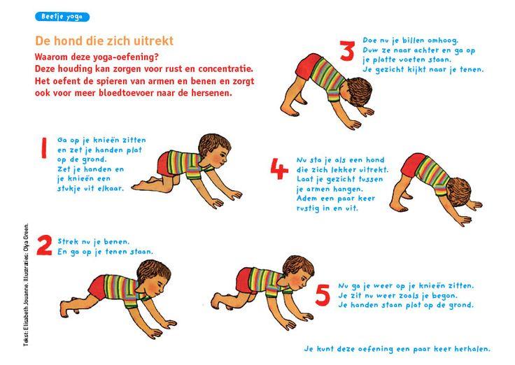 Yoga voor kinderen!