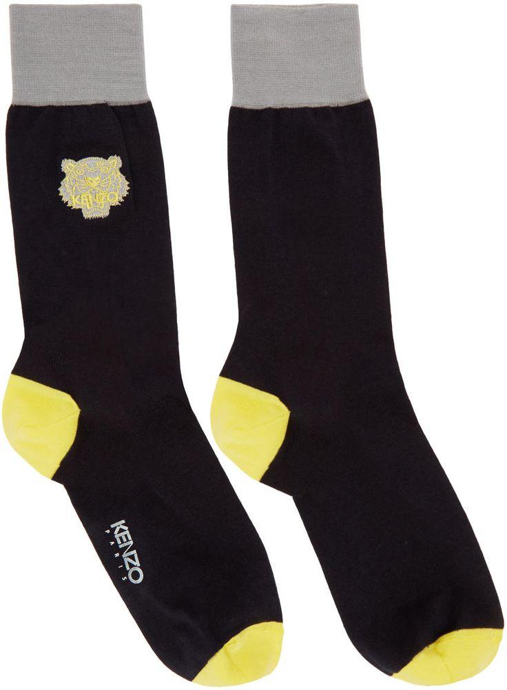 Image of Kenzo Navy Tiger Socks