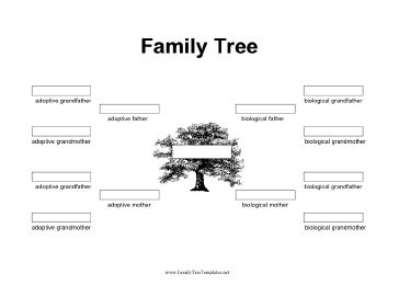 Simple family tree template 3 generations more information anunt simple family tree template 3 generations saigontimesfo