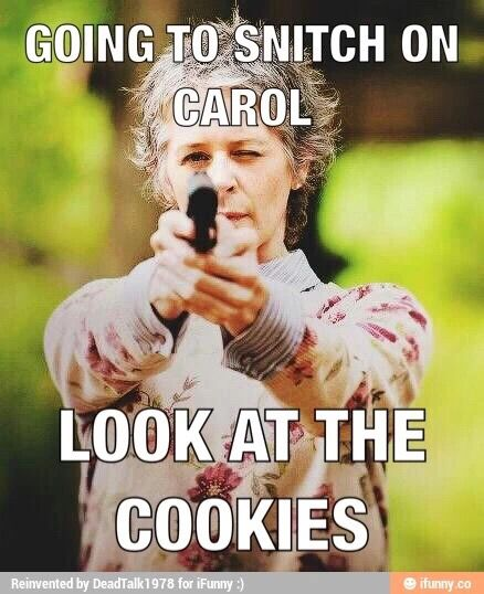 Walking Dead Meme Carol Daycare